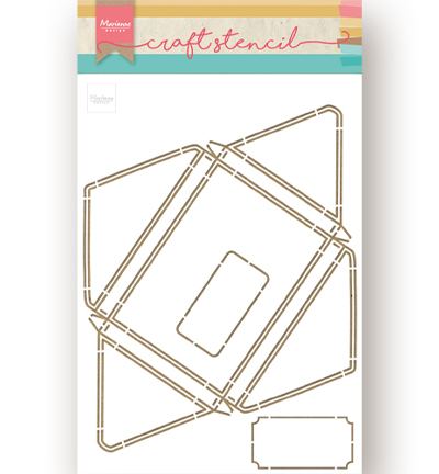 Craft Stencil - A4 - Envelope