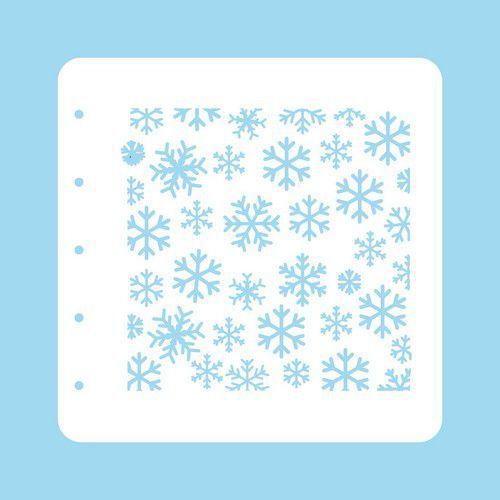Nellie's Choice Stencil Christmas Time - Sneeuwvlokken COLST004 (07-20)