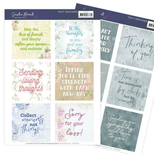 Text Designs - Jeanine's Art - Sensitive Moments (EN)
