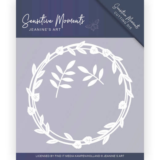 Dies - Jeanine's Art - Sensitive Moments - Leaf Circle