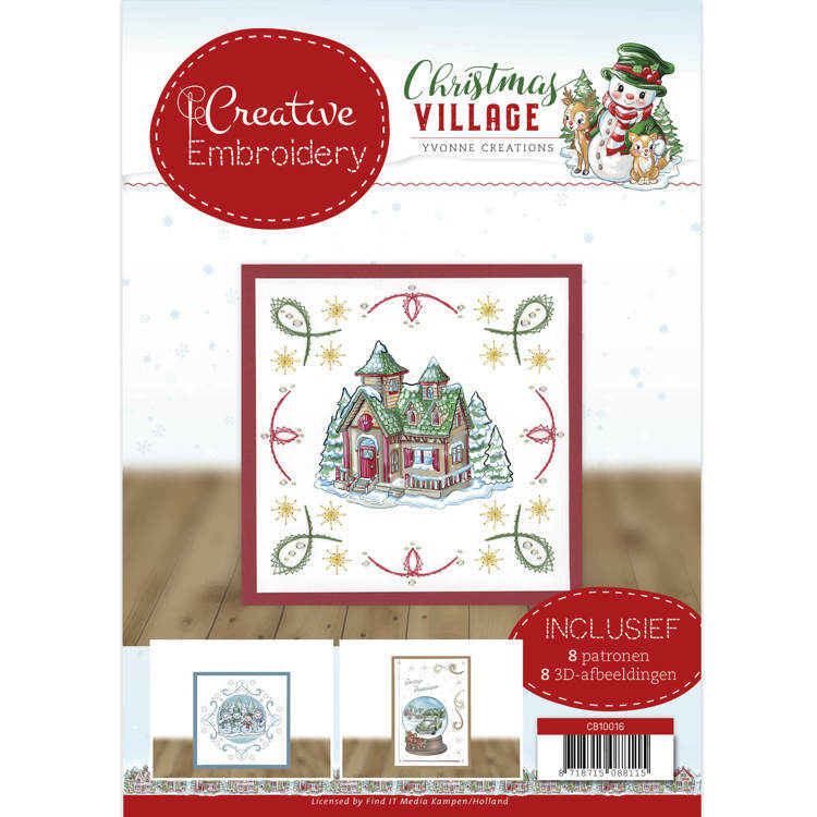 Creative Embroidery 16 - Yvonne Creations - Christmas Village