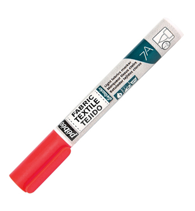 7A Light Fabric Marker - Red