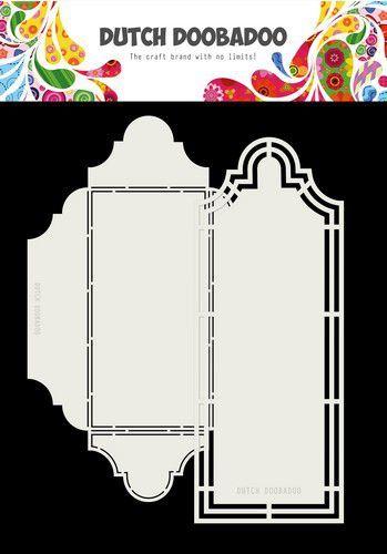 Dutch Doobadoo Dutch Envelop Art Cortado 2pc A4 470.713.804 (07-20)