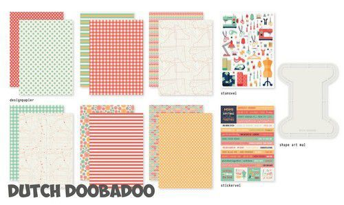 Dutch Doobadoo One More Stitch set 472.100.004 (07-20)
