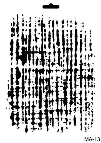 Cadence Mask Stencil MA - achtergrond lijn structuur 03 021 0013 21X29cm (07-20)