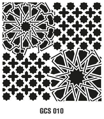 Cadence Mask Stencil GCS - Grunch ornament 10 03 026 0010 45X45cm (07-20)