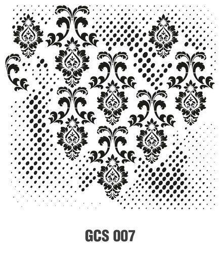 Cadence Mask Stencil GCSM - Grunch ornament 7 03 029 0007 25X25cm (07-20)