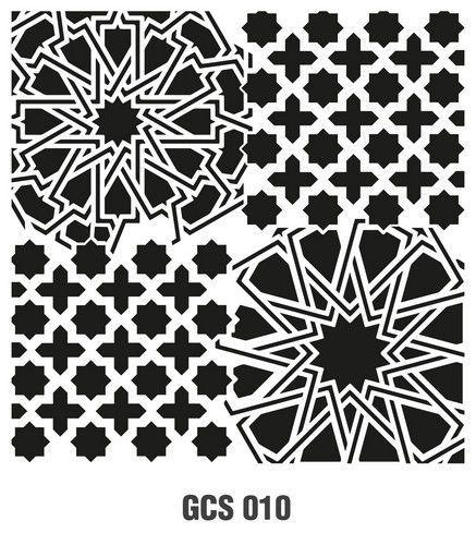 Cadence Mask Stencil GCSM - Grunch ornament 10 03 029 0010 25X25cm (07-20)