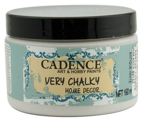 Cadence Very Chalky Home Decor (ultra mat) Antiek wit 01 002 0004 0150 150 ml (07-20)