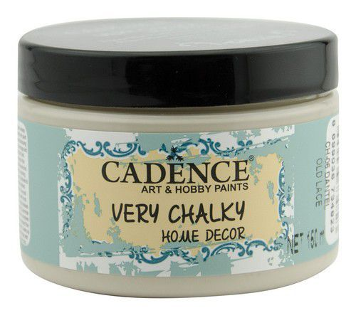 Cadence Very Chalky Home Decor (ultra mat) Old lace - Oud kant 01 002 0006 0150 150 ml (07-20)