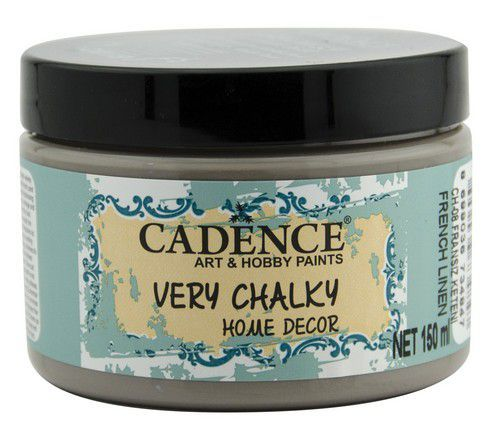 Cadence Very Chalky Home Decor (ultra mat) Frans linnen 01 002 0008 0150 150 ml (07-20)