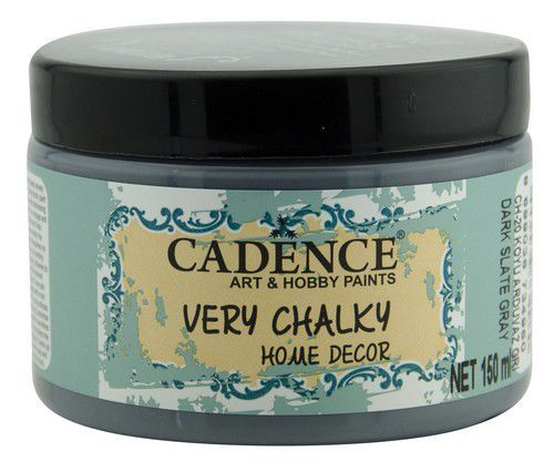 Cadence Very Chalky Home Decor (ultra mat) Donker leigrijs 01 002 0020 0150 150 ml (07-20)