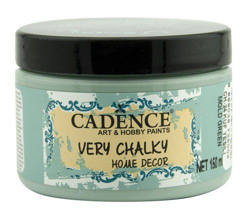 Cadence Very Chalky Home Decor (ultra mat) Schimmel groen 01 002 0024 0150 150 ml (07-20)