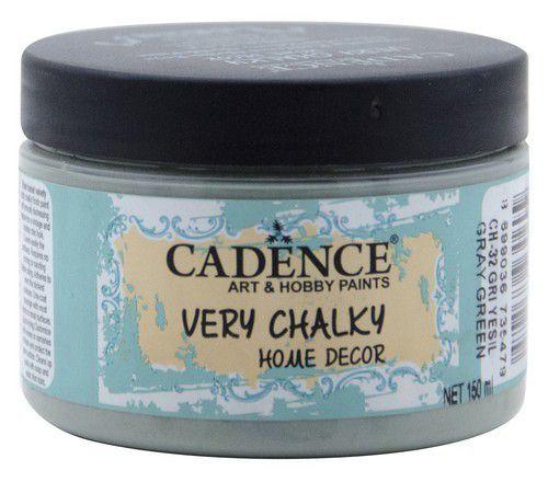 Cadence Very Chalky Home Decor (ultra mat) Grijs groen 01 002 0032 0150 150 ml (07-20)