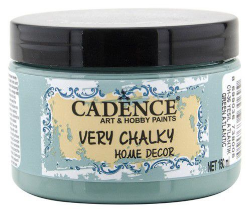 Cadence Very Chalky Home Decor (ultra mat) Groen - Atlantic 01 002 0036 0150 150 ml (07-20)