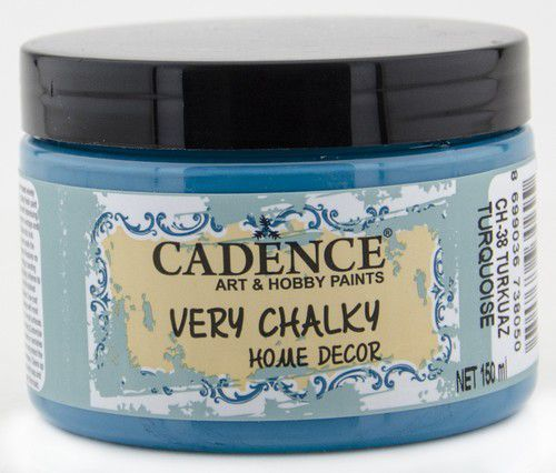 Cadence Very Chalky Home Decor (ultra mat) Turkoois 01 002 0038 0150 150 ml (07-20)