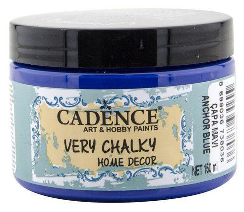 Cadence Very Chalky Home Decor (ultra mat) Anker blauw 01 002 0039 0150 150 ml (07-20)