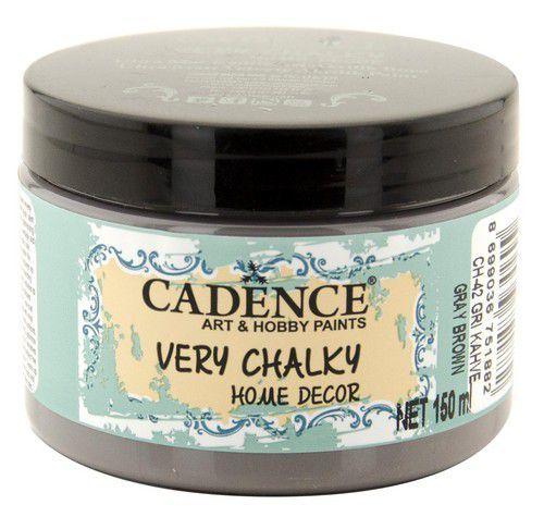 Cadence Very Chalky Home Decor (ultra mat) Grijs bruin 01 002 0042 0150 150 ml (07-20)
