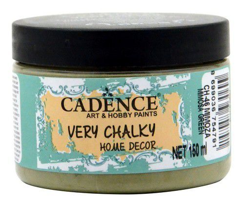 Cadence Very Chalky Home Decor (ultra mat) Mimosa groen 01 002 0046 0150 150 ml (07-20)