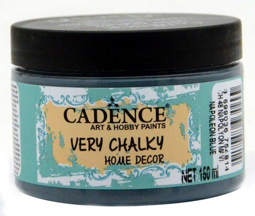 Cadence Very Chalky Home Decor (ultra mat) Napoleon blauw 01 002 0048 0150 150 ml (07-20)