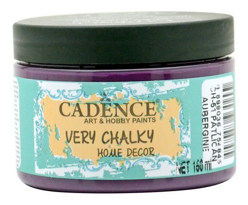 Cadence Very Chalky Home Decor (ultra mat) Aubergine 01 002 0051 0150 150 ml (07-20)