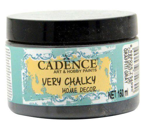 Cadence Very Chalky Home Decor (ultra mat) Graffiti grijs 01 002 0056 0150 150 ml (07-20)
