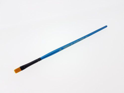 Cadence CA 1006 plat penseel goud synthetisch 1/4 04 025 1006F NO:1/4 - 6mm