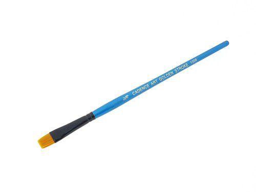 Cadence CA 1006 plat penseel goud synthetisch 3/8 04 025 1006F NO:3/8 - 9mm