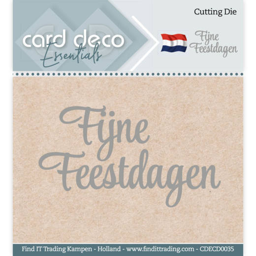 Card Deco Essentials - Cutting Dies - Fijne Feestdagen