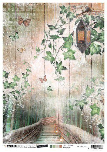 Studio Light Rice Paper A4 vel Jenine's Mindful Art 5.0 nr.29 RICEJMA29 (08-20)