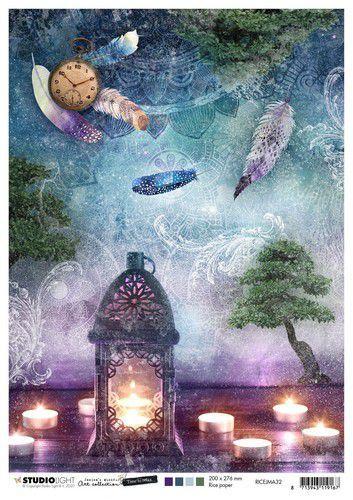 Studio Light Rice Paper A4 vel Jenine's Mindful Art 5.0 nr.32 RICEJMA32 (08-20)