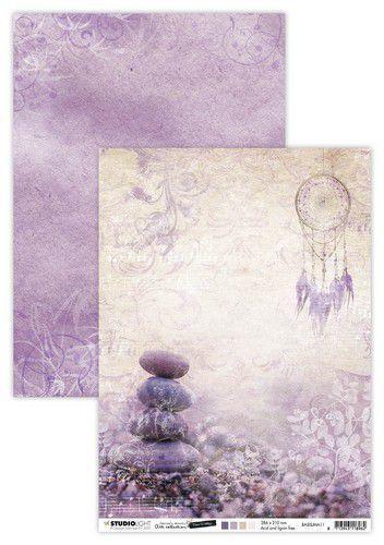 Studio Light Basis A4 Achtergrondpapier Jenine's Mindful Art 5.0 nr.11 BASISJMA11 (08-20)