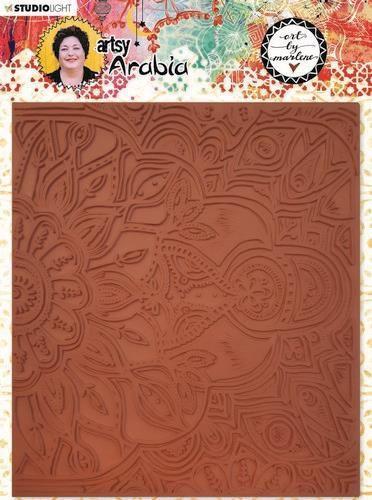 Studio Light Texture Plate Art By Marlene Artsy Arabia nr.04 TPBM04 15x17cm (09-20)