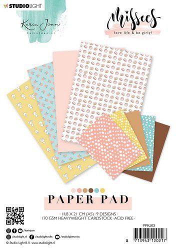 Studio Light Paper pad Karin Joan Missees Collection nr.03 PPKJ03 A5 (09-20)