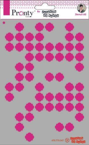 Pronty Mask Pattern background 3 A5 470.770.047 by Jolanda (07-20)