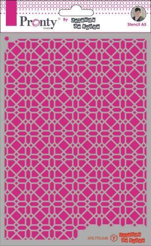 Pronty Mask Pattern background 4 A5 470.770.048 by Jolanda (07-20)