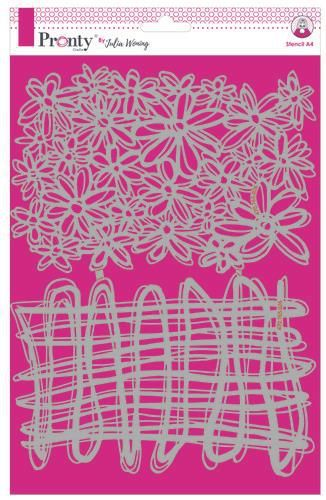 Pronty Stencil String & Daisies 470.765.026 A4 Julia Woning (08-20)