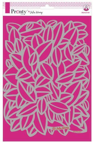 Pronty Stencil Leaves 470.765.027 A4 Julia Woning (08-20)