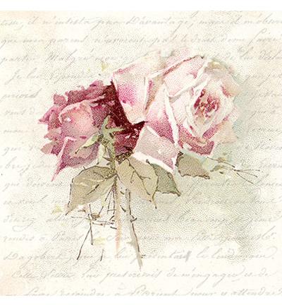 Servet, Vintage Rose Poem