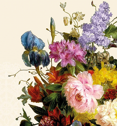 Still Life Bouquet Cream
