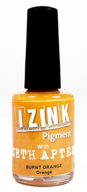 IZINK PIGMENT SETH APTER ORANGE - BURNT ORANGE 11,5 ML - 0,39 Fl. Oz.
