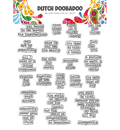 DDBD Dutch Sticker Art Doodle text