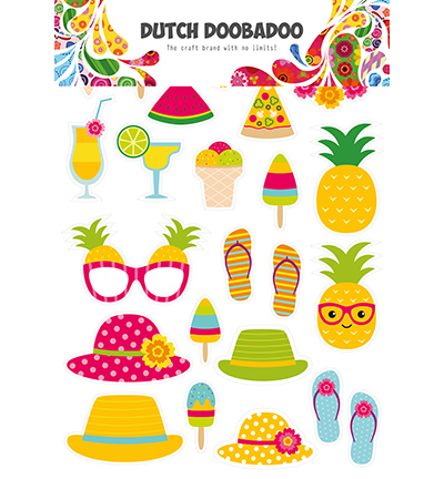 DDBD Dutch Paper Art Summer elements