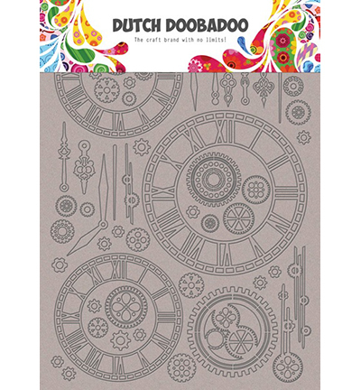 DDBD Dutch Greyboard clocks