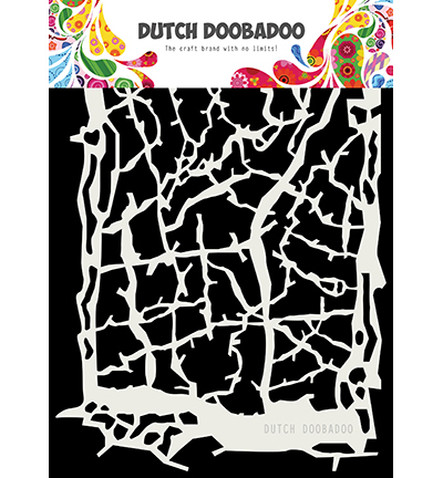 DDBD Dutch Mask ArtGrunge lines