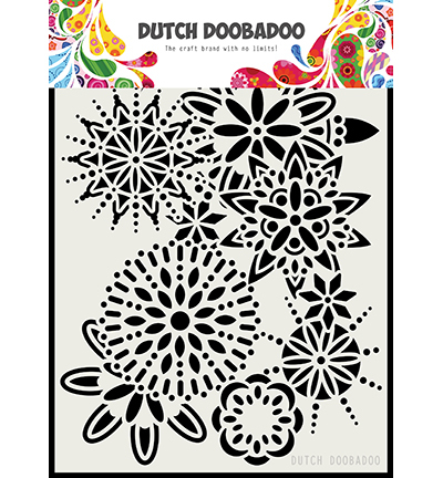 DDBD Dutch Mask Art Mandala