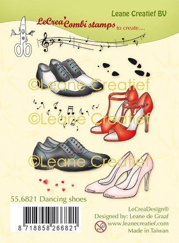 LeCrea - clear stamp combi  Dans schoenen 55.6821 (09-20)