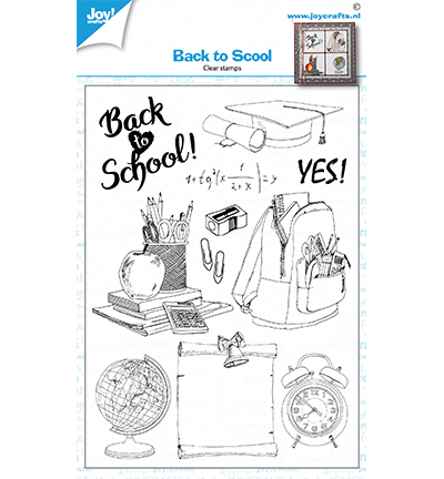Clearstamps - Back to school