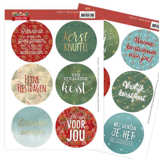 Tekst Designs - Amy Design - Christmas Pets (NL)