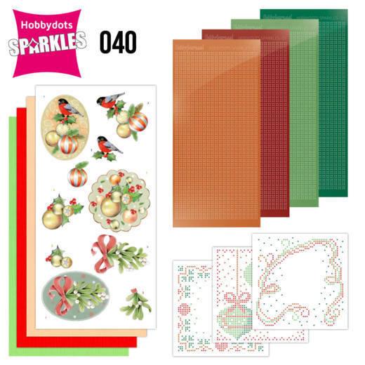 Sparkles Set 40 - Jeanine's Art - Christmas Flowers - Mistletoe